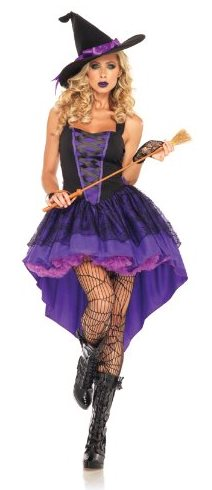 Sexy Women's Witch Halloween Costume Idea