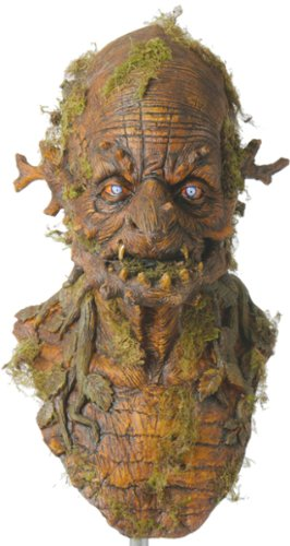 The Warlock Tree Witch Deluxe Halloween Mask