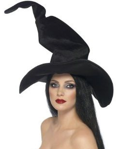 Crooked Twisty Witches Hat Halloween Costume Accessory