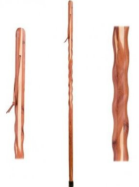 Wiccan Cedar Walking Stick Witch Staff Halloween Costume