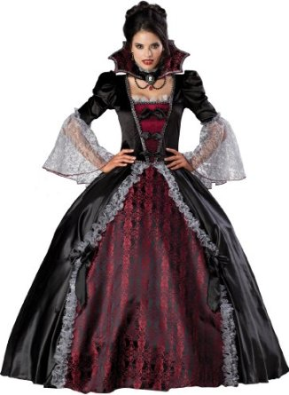 Deluxe Witches Gown Halloween Costume Idea