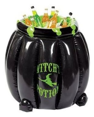 Inflatable Witches Cauldron Cooler for Halloween Parties