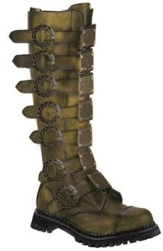Men's Deluxe Witch Hunting Boots Halloween Costume