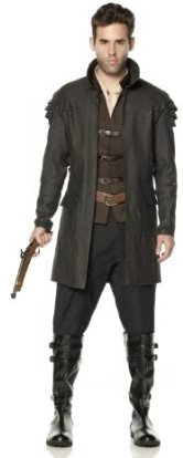 Men's Witch Hunter Halloween Costume Idea