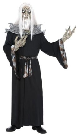 Men's Witch Halloween Costume with Mask for sale