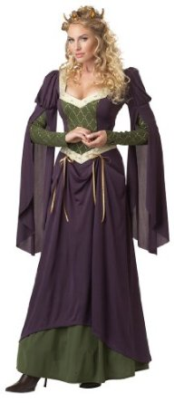 Deluxe Renaissance Witch Halloween Costume For Sale