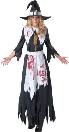 Bloody Salem Witch Halloween Costume For Sale