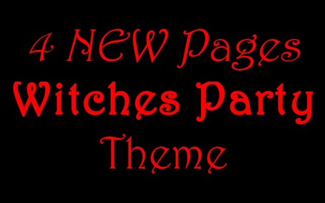 New Pages Witch Themed Halloween Party Ideas