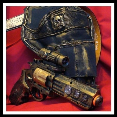 Steampunk Pistol Halloween Witch Hunter Gun Idea