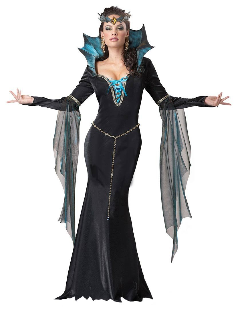 Halloween Witch Sorceress Halloween Costume Idea