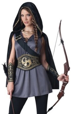 Deluxe Halloween Costume Witch Huntress Idea