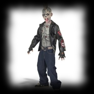 Party Ideas For Kids Zombie Halloween Costume Zombie Punnk