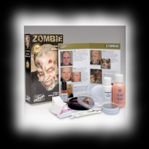 Deluxe Zombie Makeup Halloween Costume Kit For Sale