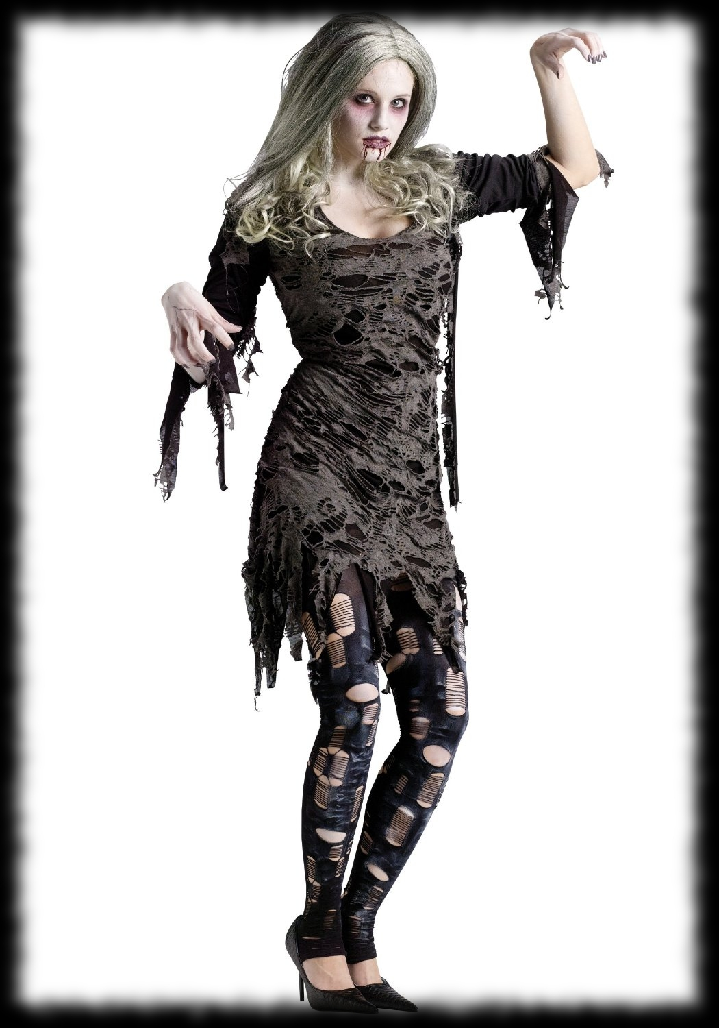 Girl Zombie Halloween Costume For Sale
