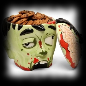 Halloween Ideas for Zombie Parties Zombie Cookie Jar