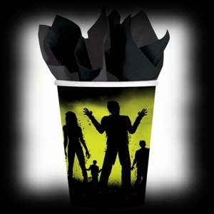 Party Ideas For Zombie Halloween Parties Drinking Cups