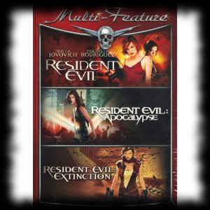 Resident Evil DVD For Sale Halloween Activity Idea