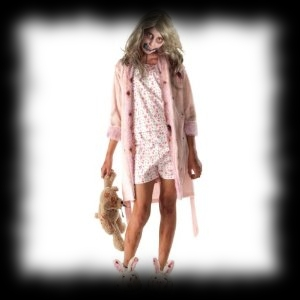 The Walking Dead Zombie Little Girl Costume