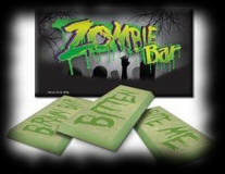 Zombie Chocolate Bar For Halloween Party Food Ideas