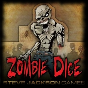 Zombie Dice for Halloween Party Game Ideas