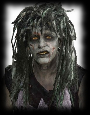 Zombie Dreadlock Wig For Party Costumes