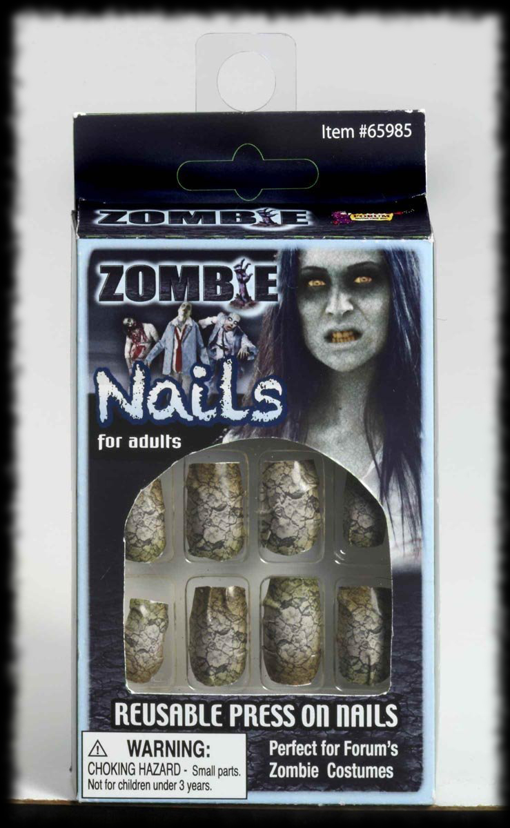 Halloween Costume Accessory Idea Zombie Fingernails