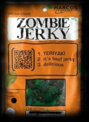 Party Ideas For Halloween Food Zombie Jerky