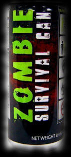 Food Ideas for Zombie Halloween Parties Energy Drink